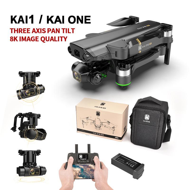 2021 KAI1 KAI ONE PRO DRONE 8K HD Mecánico 5G WiFi GPS PROFESIONAL PROFESSIONAL FOTOGRAFÍA RC Quadcopters Control remoto Drones
