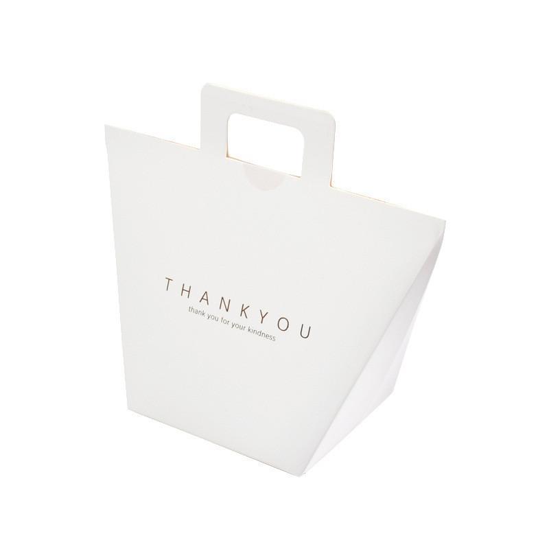 شكرا لك الحسنات الزفاف ورقة هدية مربع حزمة حفلة عيد الإحسان أكياس اليد الحلوى حقيبة CCF7656