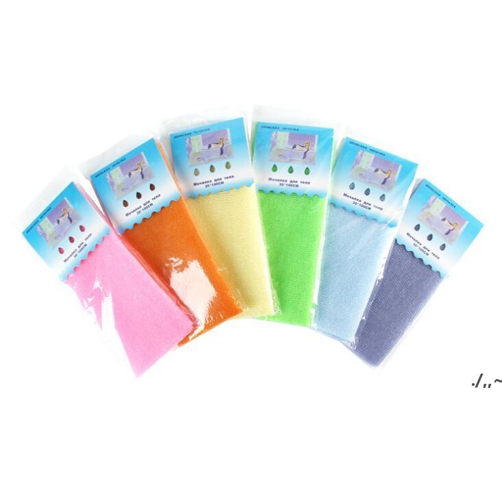 30 * 100 cm Badetuch Salux Tuch Japanische Peeling Schönheit Haut Waschtuch Körper Wäsche Handtuch Tuch Back Breaking badezimmer Zubehör AHF6521