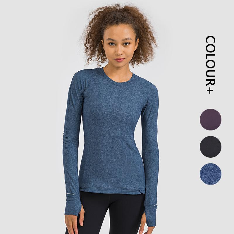Women Tracksuit Tops Tees T-Shirt Clothing Sweater Womens Yoga Mat Sports Fitness Long-sleeved Running Loose Pants Quick-drying Stretch Warm girls joggers
