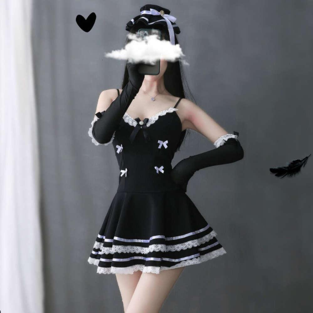 Нижнее белье стиль сексуальная милая юбка принсы слинг горничная игра единая соблазнительная роль играть в костюм