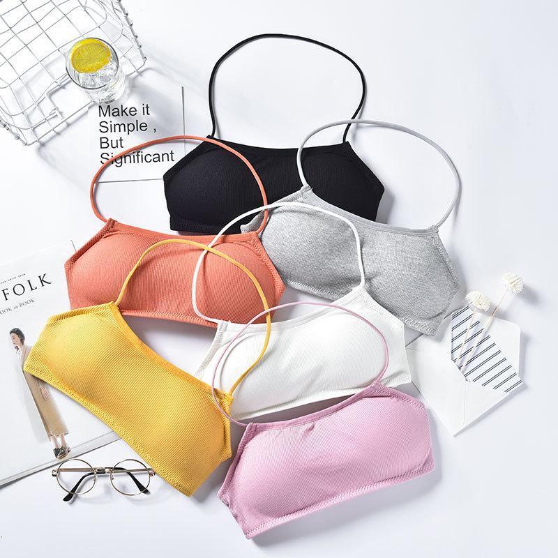Sport-BHs hohe Wirkung Stretchy Yoga Sling Weste einfarbig Atmungsaktive Ernte Top elastische gepolstete stoßdichte Workout Bralette Outfit
