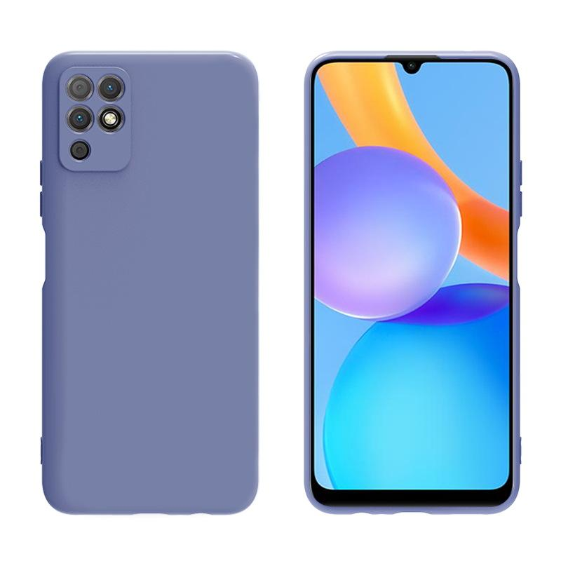 Kvadratisk Liquid Silicone TPU Soft Cases Cover For Huawei P40 Pro Plus Honor 30 30s V30 Pro 100pcs / Lot