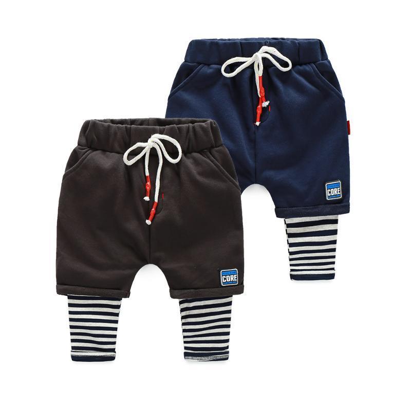 Calças Meninos Meninas Calças Cross-Calças Excelente Qualidade Algodão Lazer Bebê Criança Crianças Roupas Designer Roupas de Crianças