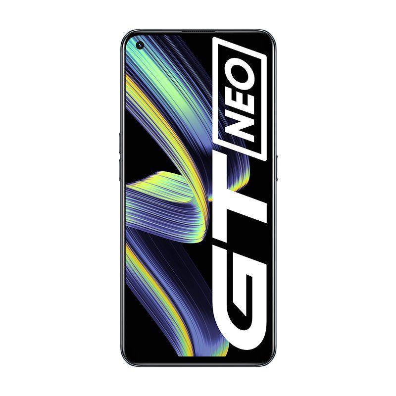 "Original Realme GT Neo 5G Mobile Phone 12GB RAM 256GB ROM MTK Deminsty 1200 64.0MP AI 4500mAh Android 6.43"" AMOLED Full Screen Fingerprint ID Face NFC Smart Cellphone"