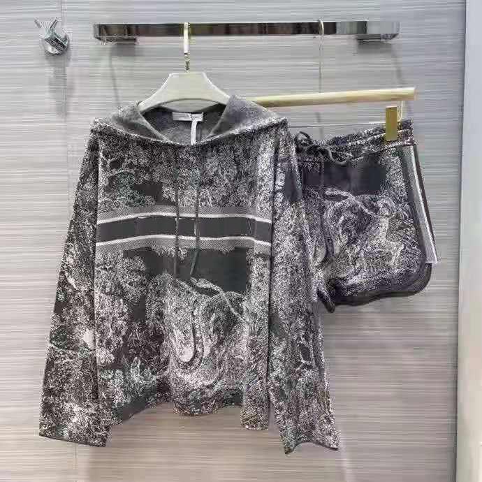 Frauen Trainingsanzüge Zwei Teile Sets Terry Hoodie Pullover Wolle und Hosen mit Buchstaben Größe für Dame Slim Hoodies Knits Trainingsanzug Autunmn Winter Outwears S-L