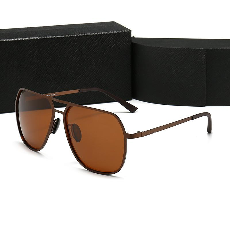 2021 designer sunglasses retro high quality anti ultraviolet metal glasses frame fashion men and women