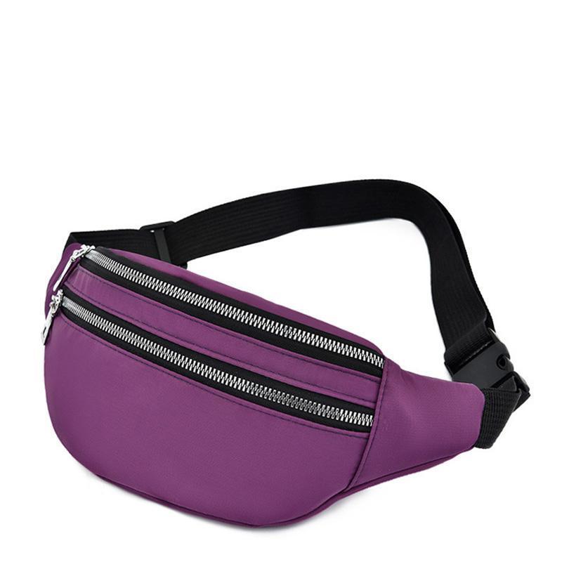 Für Frauen wasserdichte Taille Taschen Lässige Mode Bum Bag Unisex Reise Crossbody Brustgürtel Moblie Telefon Tasche Packungen