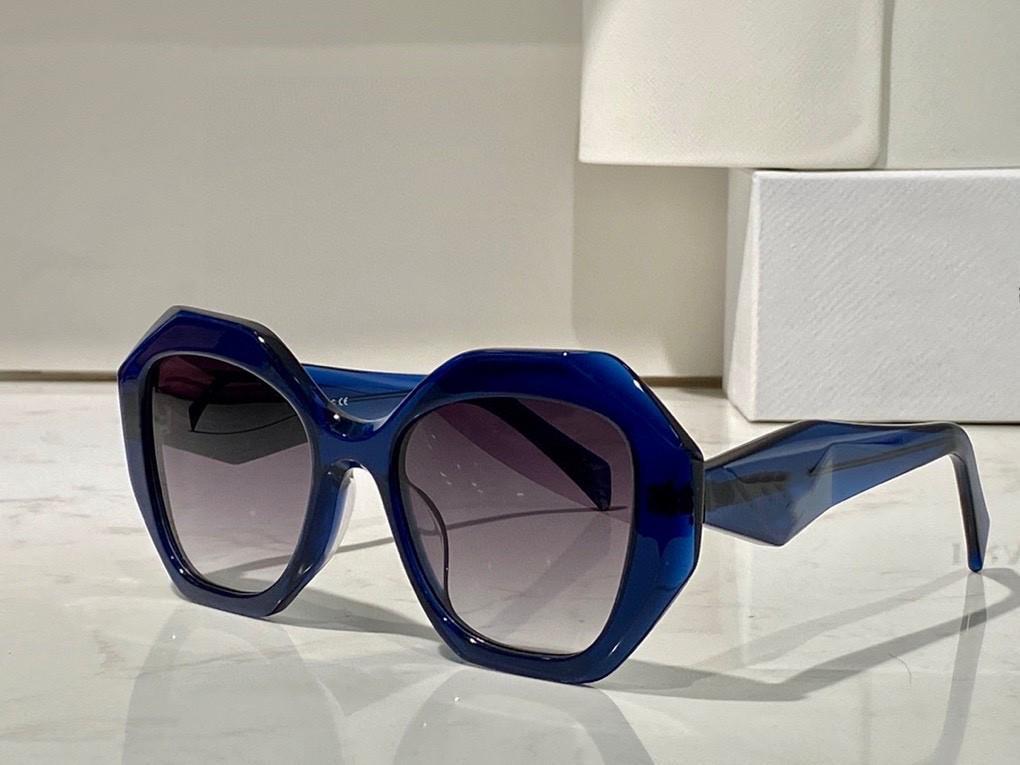 النظارات الشمسية للرجال والنساء الصيف نمط المضادة للأشعة فوق البنفسجية 16W-S الرجعية لوحة غير النظامية إطار كامل الأزياء النظارات مربع عشوائي