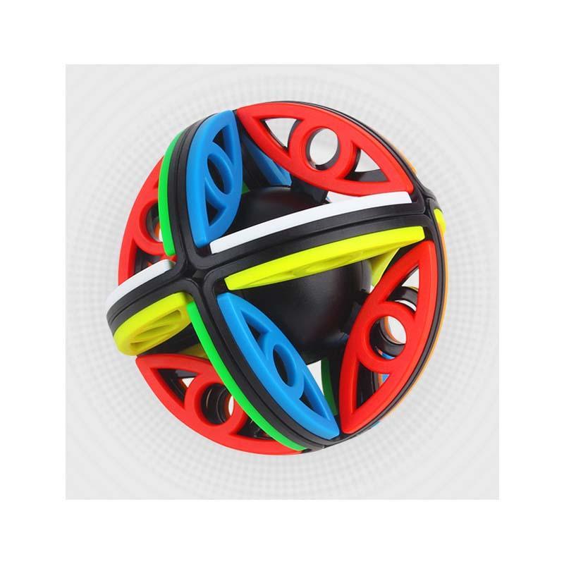 Newst Yuxin كروية مكعب ماجيك 2x2x2 سحر العين سرعة مكعبات الكرة الألغاز التعليم اللعب