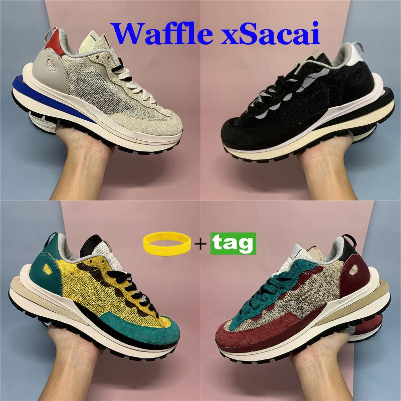 LDV 와플 Xsacai Pegasus Mens Womens 실행 신발 투어 노란 경기장 녹색 게임 로얄 플랫폼 항해 여성 스포츠 스니커즈 36-45