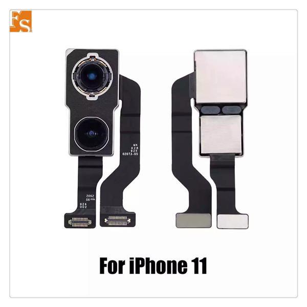 2021 جديد خلفية الكاميرا لفون 11 11PRO 11PROMAX 7G 7P 8G 8P X XS XSMAX XR حقيقي مع أجزاء إصلاح الكابلات المرنة