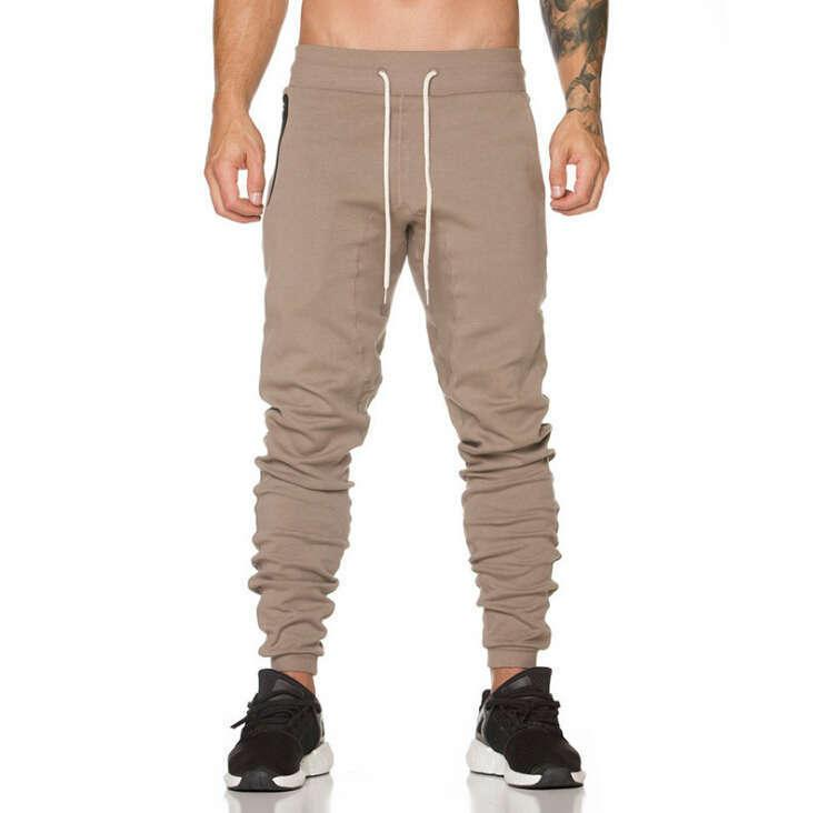 New Mens Joggers Fashion Harem Pantalones Hip Hop Slim Fit Fit Hombres para jogging Dance Sport Pantalones