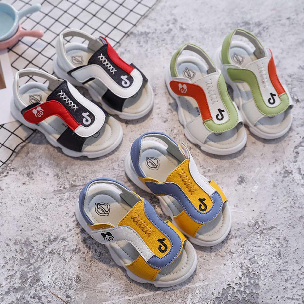 Детские сандалии физические стрельбы мужские и детские малыши SHO женские детские досуг дышащий нескользящий соль лето 1-3 лет