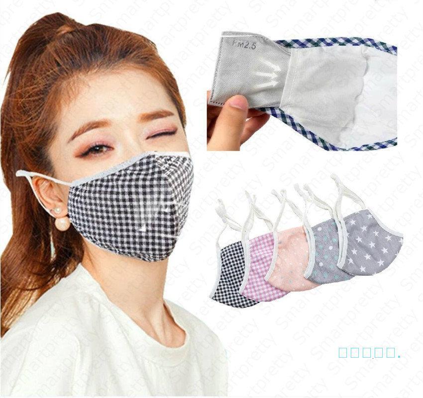 Mascarilla anti-polvo de la cara del sol de la cara del sol del algodón de la primavera cubierta de la boca transpirable anti-polvo respirador RK5G