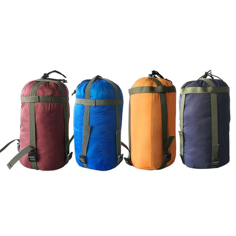 Sleeping Bags Outdoor Camping Bag Storage Package Compression Stuff Sack Leisure Hammock Packs For Travel Hiking