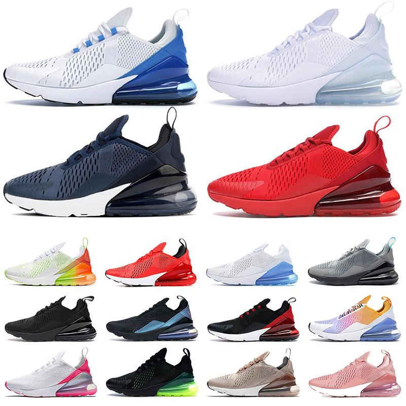 stock x nike air max 270 off white airmax 270s fashion 2020 TOP QUALITY mens womens running shoes new Spirit Teal Volt University Red triple white black designer sneakers trainers