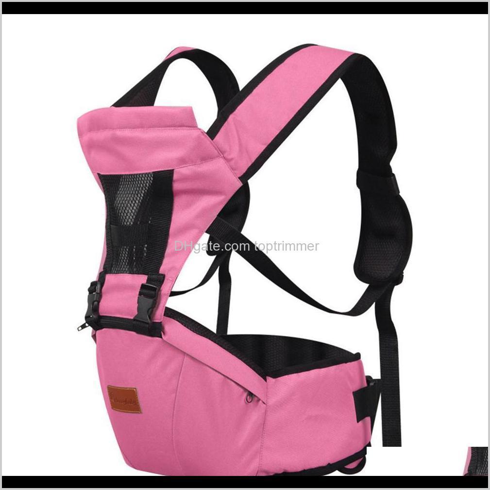 Carrier, Slings Rucksäcke Sicherheitsausrüstung Baby, Kinder Mutterschaft Drop Lieferung 2021 Kuulee Front Holding Rucksack Hände Taille Hocker Schultern ST