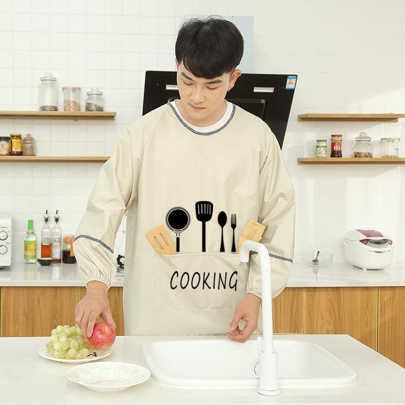 Aprons Men's Apron Household Kitchen Waterproof And Oil-proof
