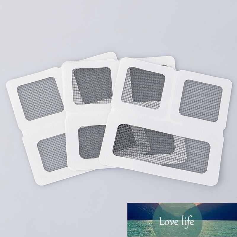 Etiquetas do reparo da tela Corrigir a tela da janela da rede da rede para a casa anti mosquito errão da mosquito do conserto do erro adesivos 10cm x 10 cm