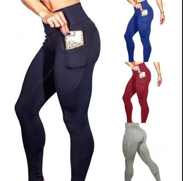 Leggings para mujer Pollado de malla de malla Running Pantalones de yoga Pantalones Juggers Fitness High Cintura Mujeres Sweetpants Pantalones