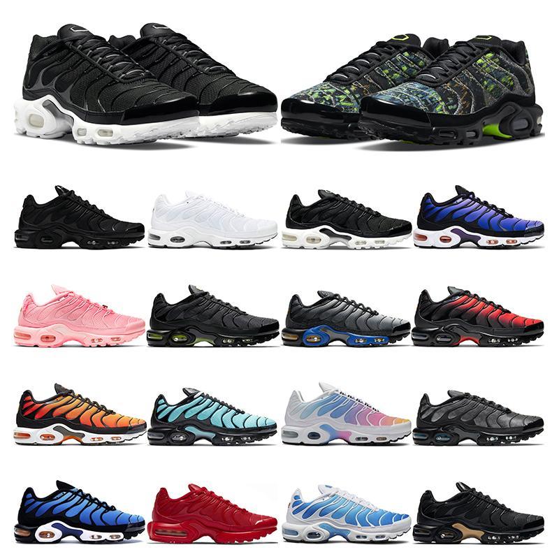 tn plus running shoes for men women triple black white Atlanta true green Volt Glow hyper bule Rainbow Pink Snakeskin mens sports sneaker trainer outdoor fashion