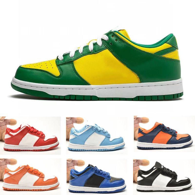 Dunk Sb Taglia scarpe basse per bambini Ragazzino ragazza Kid Youth Skateboard Sport Skate Sneaker Dimensione EUR26-35