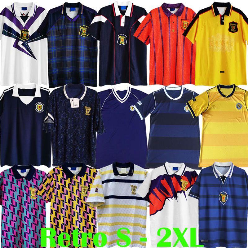 1978 1982 1986 1986 1990 كأس العالم اسكتلندا الرجعية لكرة القدم الفانيلة 1991 1992 1993 1994 1994 1996 1998 2000 خمر مجموعة قمصان كرة القدم ستاشان مكستاي مجموعات