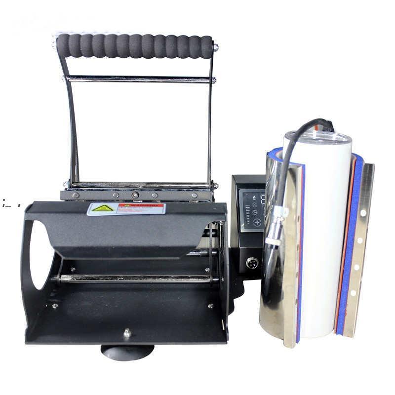 Imprimante Machine de pression de chaleur Machinng de sublimation Convient à 20 oz Gobeleuses droites 110V Machines de transfert thermique par mer BWE9529