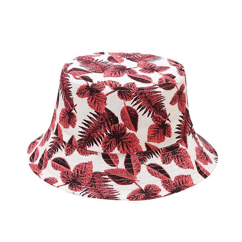 Geniş Ağız Şapkalar Yetişkin Kişilik Grafiti Baskı Kova Şapka Kadın Yaz Casual Streetware Sun Büyük Katlanabilir Plaj Balıkçı Şapkalar # 35