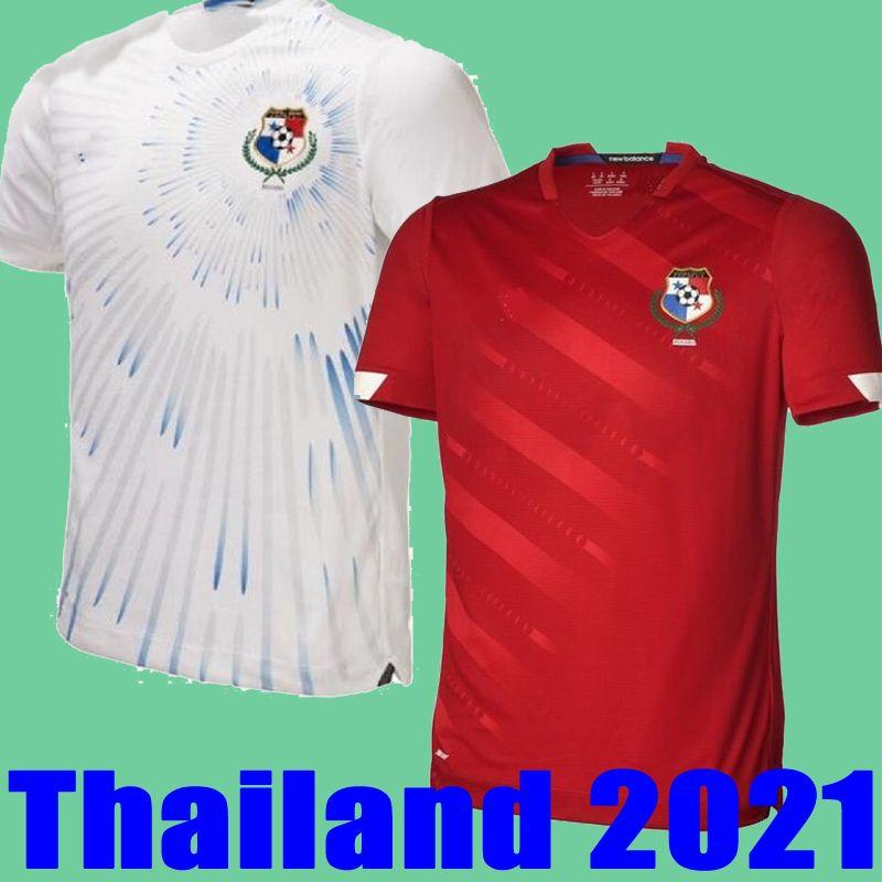 2021 2022 Jerseys de fútbol de Panamá Tailandia Hogar de Tailandia Michael Murillo 20 21 Camisetas Eric Davis Alberto Quintero Aníbal Godoy Gabriel Panamá Camisetas de Fútbol Uniformes