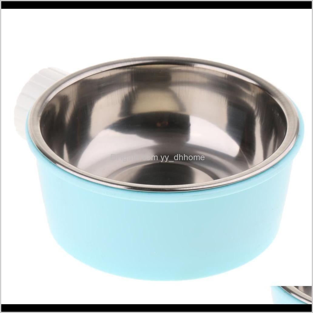 Toys Chews Pet Cat Kitten Animal Practical Steel Food Dispenser Dog Puppy Feeding Bowl A9Osz Tt8Ez