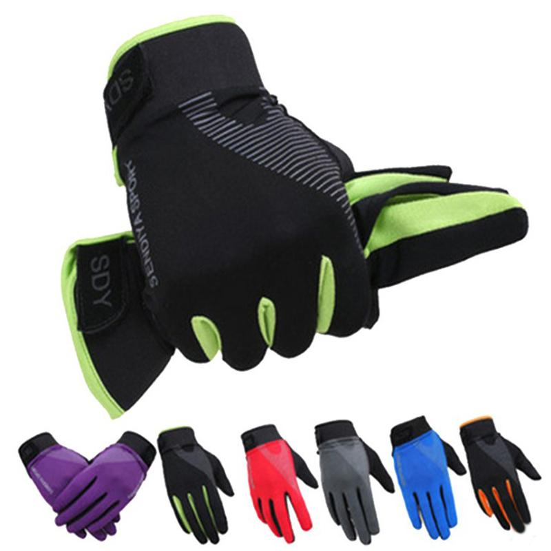 Motorcycle Fishing Biking Work Gloves Thermal Mountain Bike Breathable Glove for Men Womens Summer Use