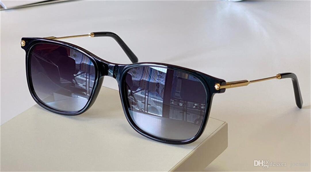 Occhiali da sole Design di moda 7032 Piatto quadrato Telaio telaio e comodo Stile semplice Versatile Stile Outdoor UV400 Protezione Glasses Top Quality