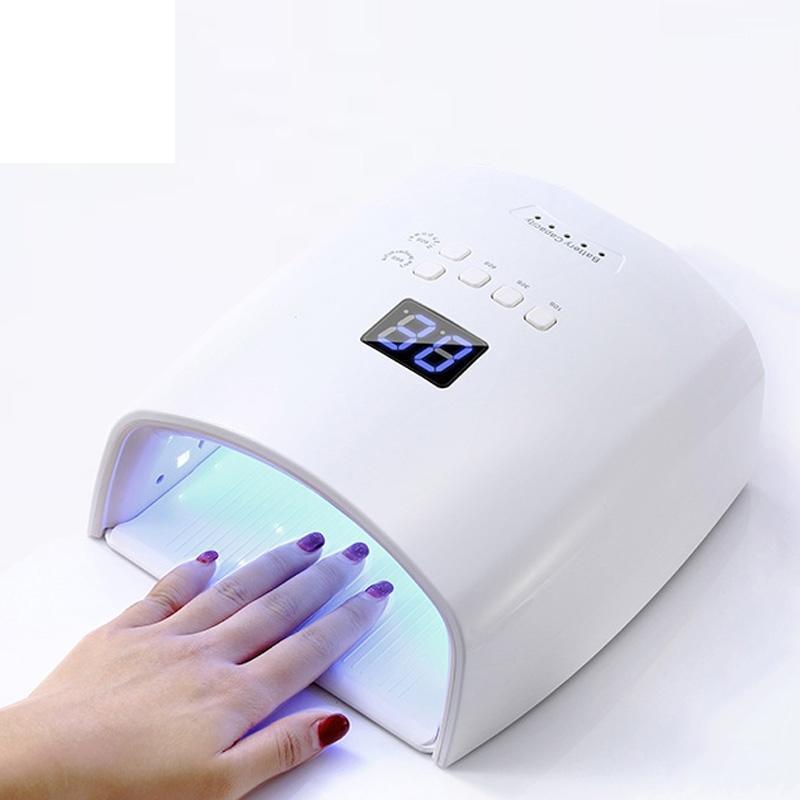 Dahili Pil Kablosuz UV Lambası S10 Jel Oje Kurutucu Kür Işık Akülü LED Kurutucular