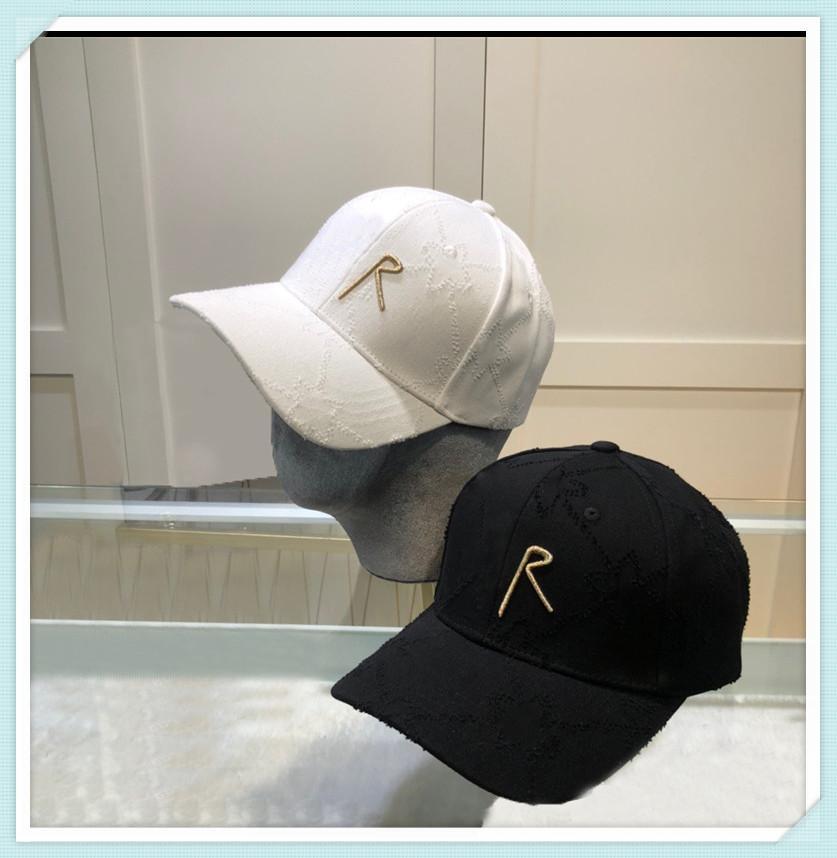 Designer di lusso Cappelli Cappelli Cappello da baseball di lusso Berretto da baseball largo Brim Peaked Hat Cappello Bonnet Mens Berretti Berretti Berretti Berretti Casquette No Box 21042102tdq