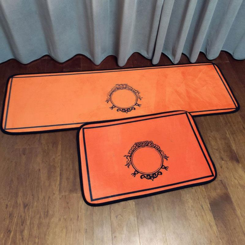 Commercial Carpets bedroom sofa trendy brand fashion store Living Room circular Polyester Absorbent Floor Mats