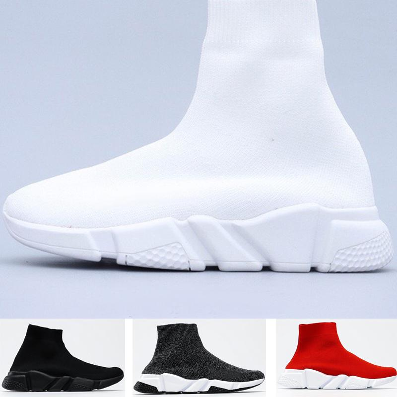 Großhandel Triple S City Socke Schuhe Stricktrainer für Männer Frauen Liebhaber Laufen Sport Sneaker Größe36-45