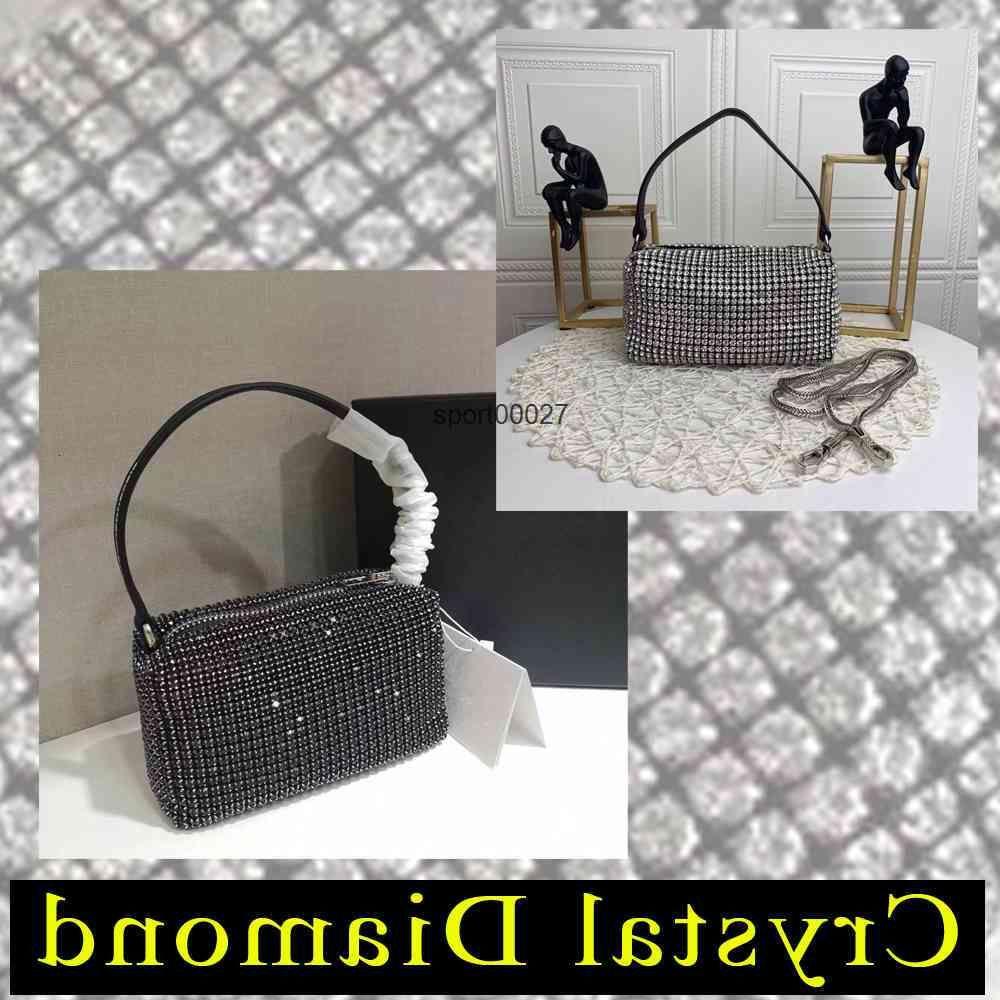 Women crystal diamond Handbags Shoulder BagsDisco Bag Fashion clip girl handbag casual sweet autumn winter