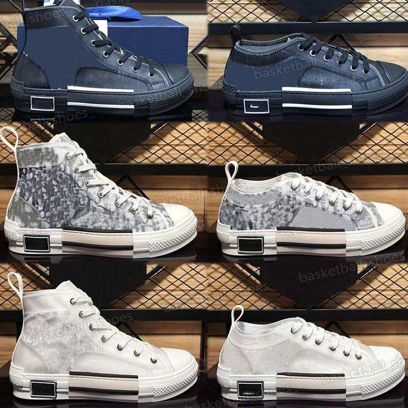 Clássico oblíquo homem homem baixo sapato masculino altamente alto sneaker mulheres casuais moda couro lace up woman designers plataforma sapatos
