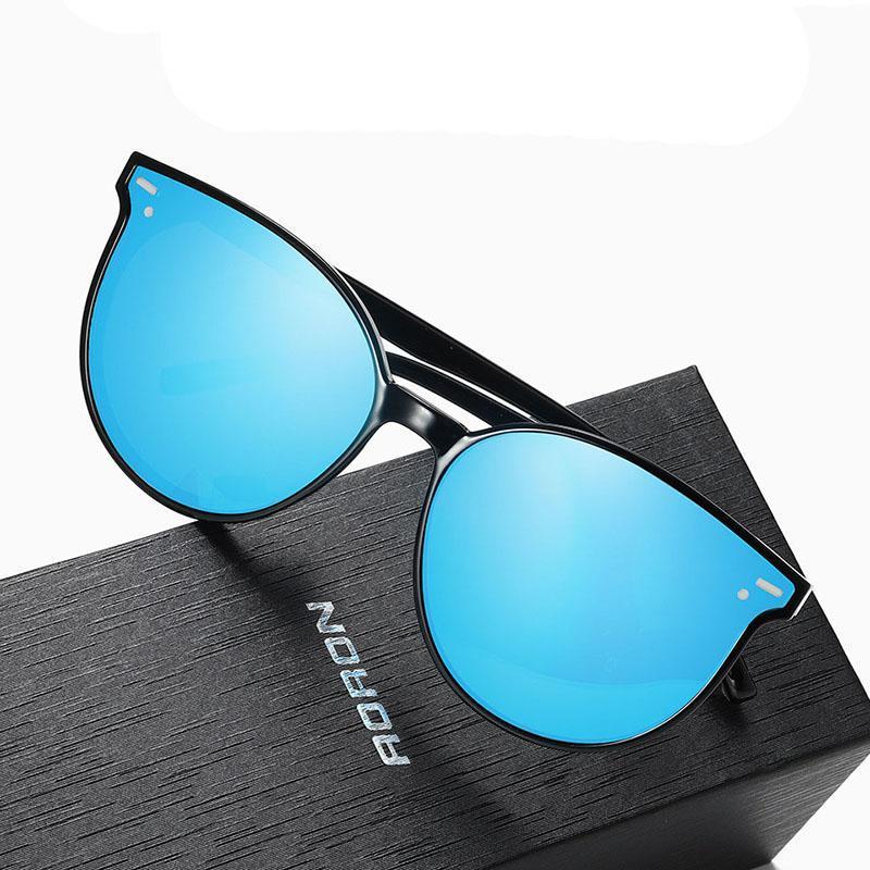Sonnenbrille Mode bunte runde rahmen polarisierte koreanische stil im freien treibenden trend brillen für männer und frauen