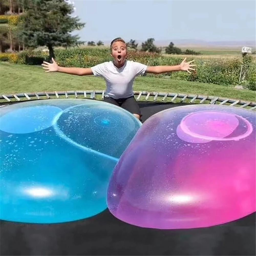 50/70cm Inflatable Water Balloon Ball Super-large TPR Bubble Without Air Pump Outdoor Park Parent-child Toys
