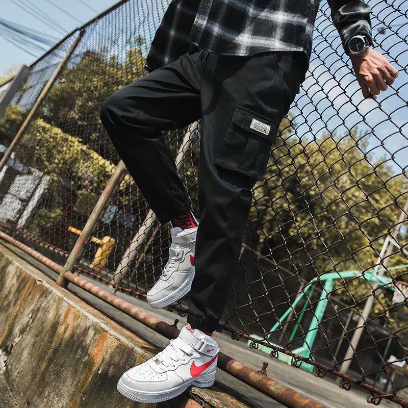 젊음의 활력 하렘 바지 남자 streetwear sweatpants 남성 2021 펑크 캐주얼 힙합 조깅 망 패션 드롭 남자