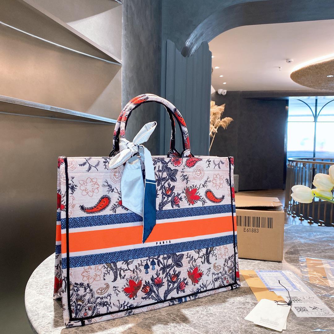 21ss designer bolsa de bolsa de mulheres sacos de compras moda clássico impresso carta totes de alta qualidade mulheres temperamento mulheres bolsa de ombro