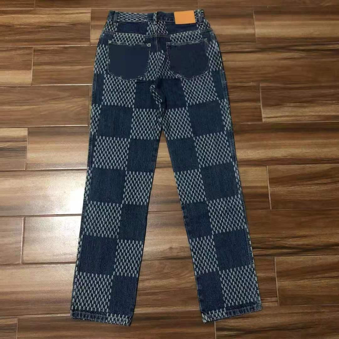 2021 Parigi Itlay Jeans Skinny Jeans Casual Street Fashion Takets Uomini caldi Donne coppia Outwear Ship Ship ZDLL20506.