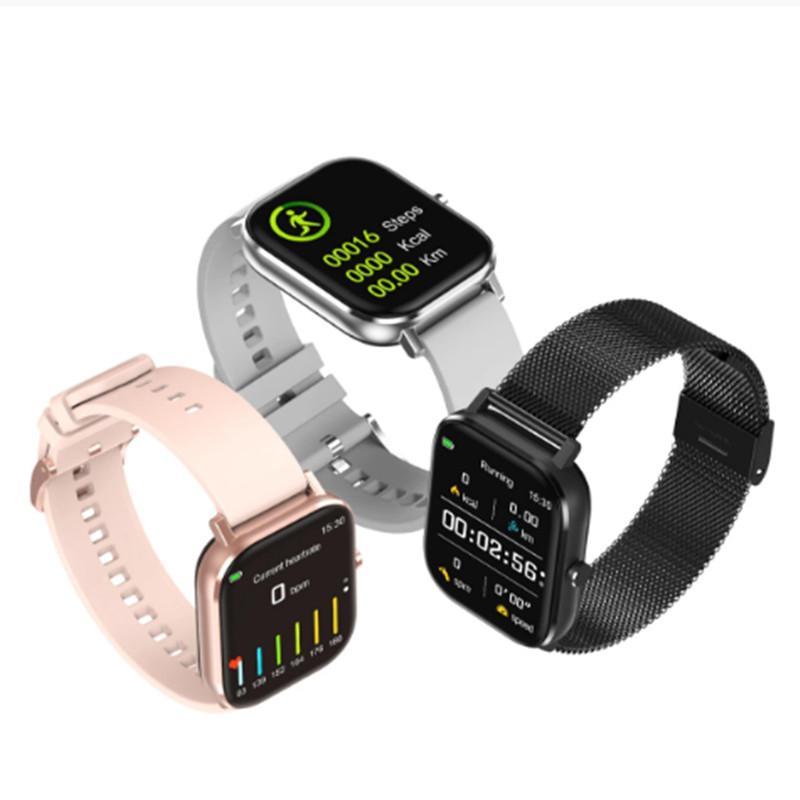 Fitness Tracker DT35 Plus Smart Watch 1.75 inch Full Screen IP67 Waterproof ECG Health Bracelet Bluetooth Call Heart Rate Temperature