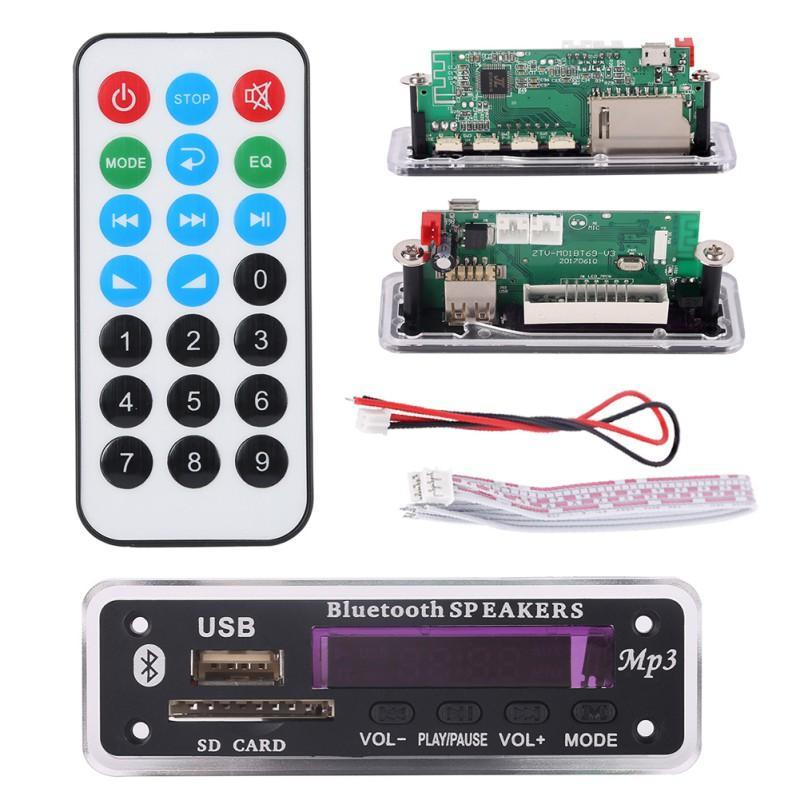 MP4 Oynatıcılar Uzaktan Kod çözme Kurulu Modülü Yüksek Kalite EST Bluetooth MP3 W / SD Kart Yuvası / USB FM
