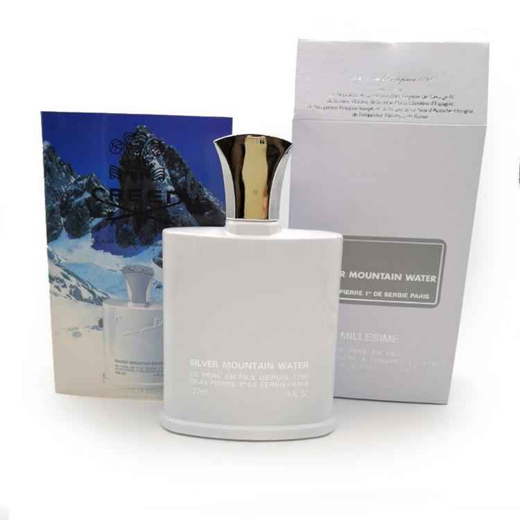 Erkekler için Parfüm Kadınlar Gümüş Dağ Su Golden Edition Creed Parfum Millessime İmparatorluk Koku Unisex 100 ml