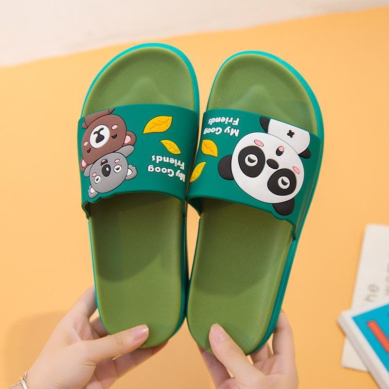 2021 Cute Koala Bear Pantofole Summer Donna Pantofole da donna Interno Silenzioso Deodorante Deodorante Donne morbide Donne All'aperto Spiaggia piatta Scarpe da spiaggia