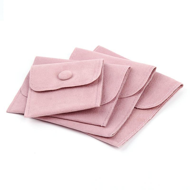 Ювелирные изделия Подарочная упаковочная сумка для упаковки с защелкивающимися крепежными пылезащитными ювелирными изделиями Подарочные мешочки из жемчуга бархат розовый синий выбор 503 Q2